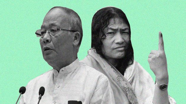 Irom Sharmila was not a real threat to Ibobi