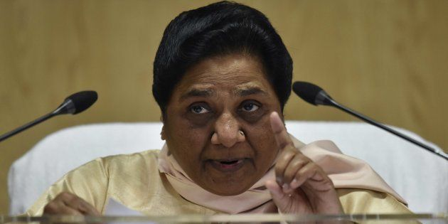 Mayawati Accuses BJP Of Rigging Election Voting Machines In