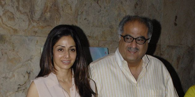 Boney Kapoor Holds Back Tears While Remembering Late Wife Sridevi In Emotional