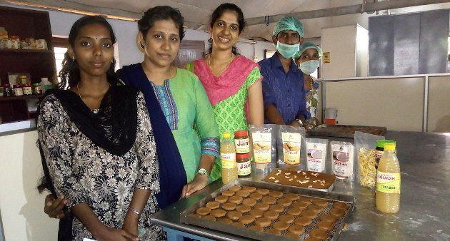 Value-added jackfruit products developed at Santhigram