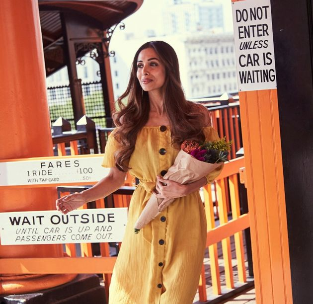 Malaika Arora Khan Slays It On The Streets Of LA In This Bohemian