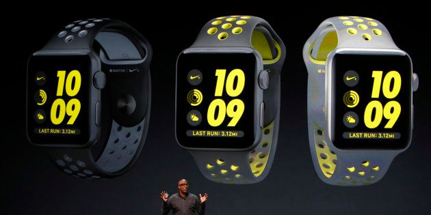 With Its New Watch Series 2, Apple Poses A Challenge To FitBit And