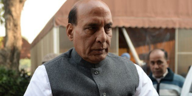 File photo of Indian Home Minister Rajnath