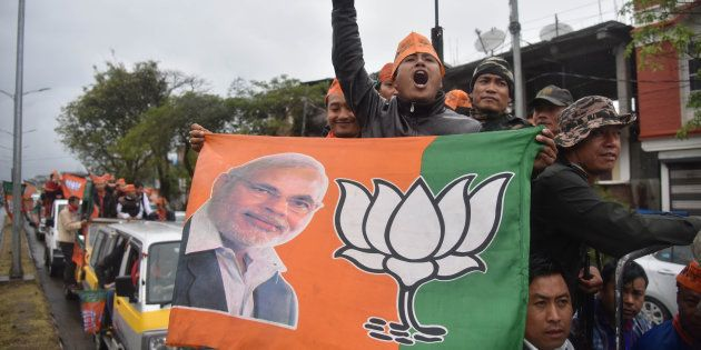 How Indian Newspapers Covered BJP's Mammoth Victory In Uttar