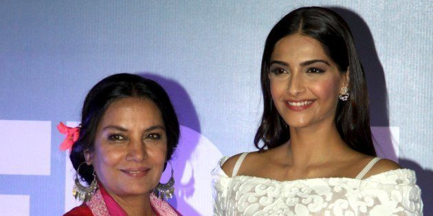 Actors Shabana Azmi and Sonam Kapoor, while promoting