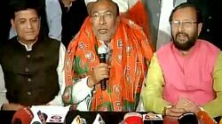 N. Biren Singh Elected As BJP's Legislature Party Leader In