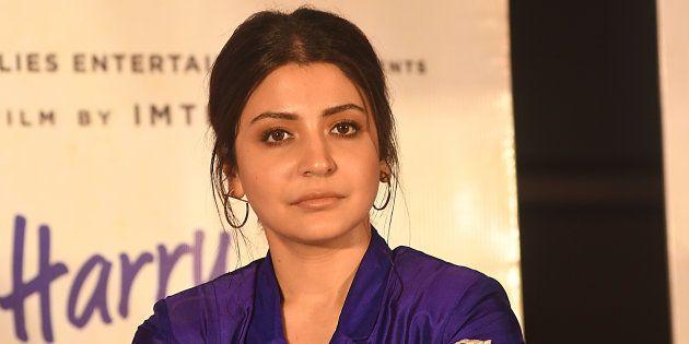 Indian Actress Anushka Sharma at the press conferences at the Film director Imtiaz Ali upcoming film...