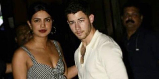 New Couple Priyanka Chopra And Nick Jonas Hung Out In Mumbai And The Paps Collectively Lost
