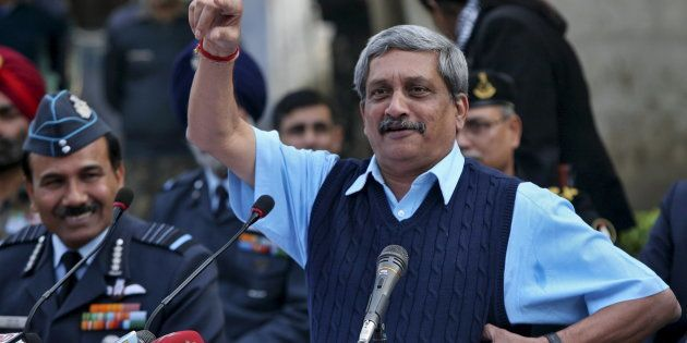 Manohar Parrikar Sworn-In As Chief Minister Of