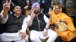 Amarinder Singh Set To Take Oath As CM As Congress Makes Comeback In Punjab After 10