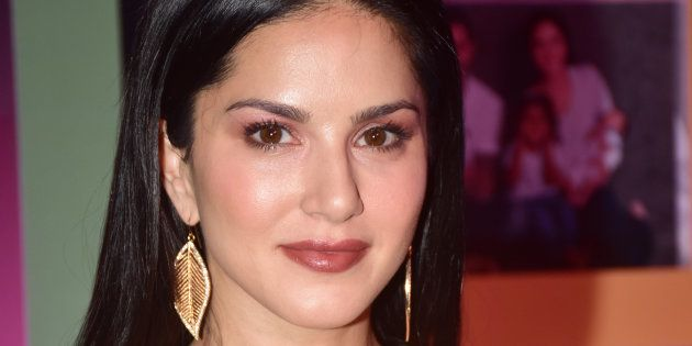 MUMBAI, INDIA - 2018/03/26: Actress Sunny Leone at the Zee TV's online channel ZEE5 new show launch event...