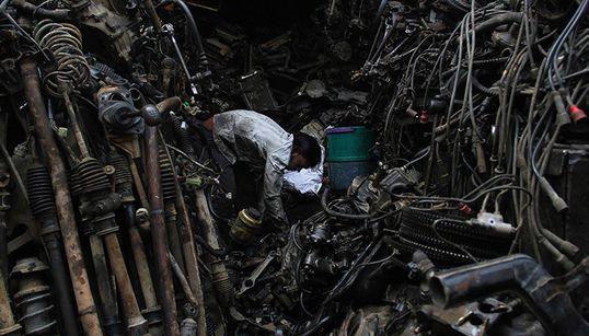 PHOTOBLOG: Mayapuri Junkyard Is Where Vehicles Go To Die… And Be