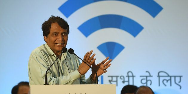 Indian Railways Minister Suresh