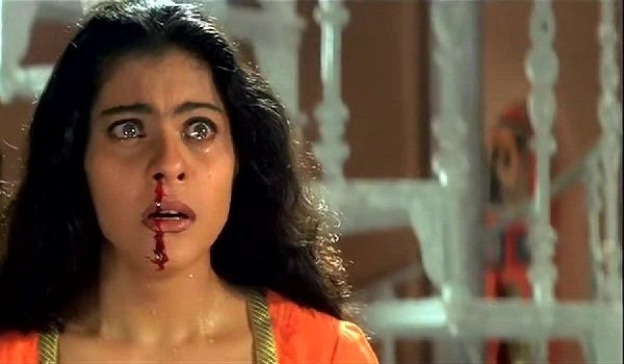 Kajol in a still from Tanuja Chandra's