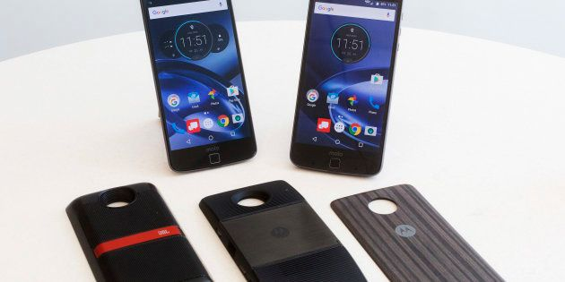 Motorola Launches Its First Modular Phones Moto Z And Moto Z Play In