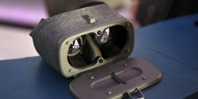 The Google Inc. Daydream View virtual reality (VR)