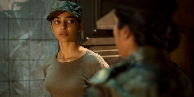 Radhika Apte in a still from 'Ghoul'