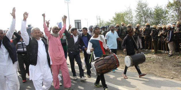 Four Cops Injured As Jat Protesters, On Their Way To Delhi, Clash With