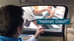 Watch: Sachin Tendulkar Gives Important Road-Safety Advice To Bikers On The