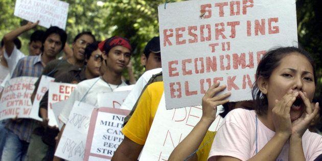 United Naga Council To End Economic Blockade In