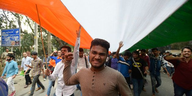ABVP Blames Kerala CM For Murder Of RSS Workers, Protests Against His Visit To