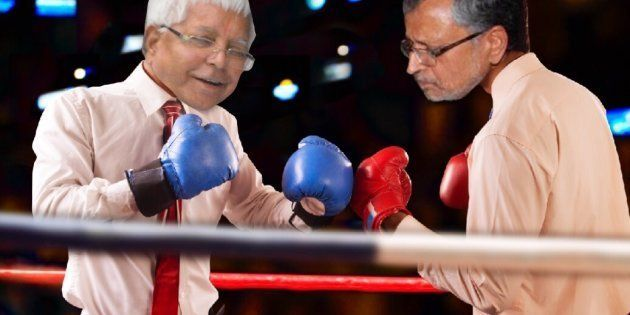 Lalu Prasad Yadav And Sushil Kumar Modi Have Been Each Others' Favourite Punching Bag. Here's
