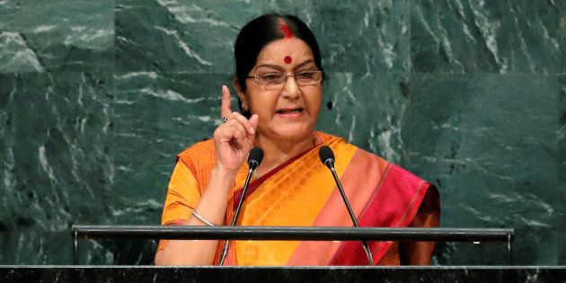 Sushma Swaraj Directs High Commission To Facilitate Return Of Indian Woman Stranded In