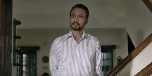 Irrfan Khan in the trailer of