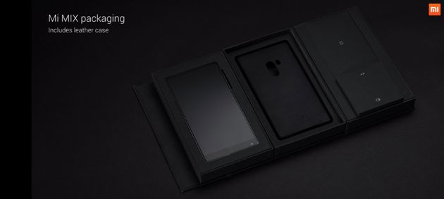 Xiaomi's New Mi Mix Concept Phone Is A Design