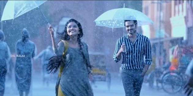 Ram Pothineni and Anupama Parameswaran in 'Hello Guru Prema Kosame'.