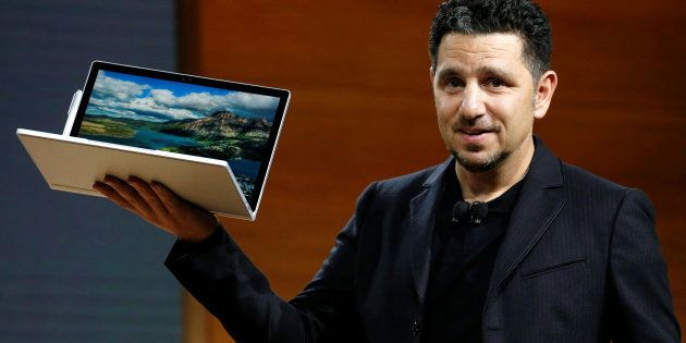 Panos Panay, Corporate Vice President for Surface