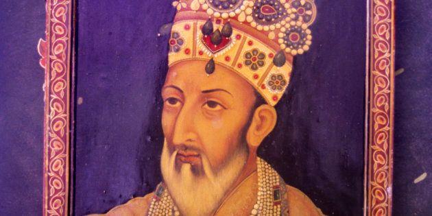 Miniature of Bahadur Shah