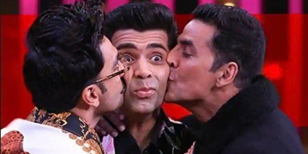 Ranveer Singh and Akshay Kumar on Koffee With Karan Season