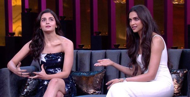 Alia Bhatt and Deepika Padukone opened the 6th season of Koffee With