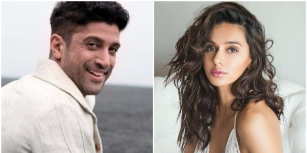 Farhan Akhtar and Shibani