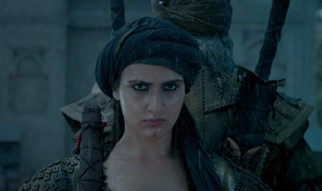 Fatima Sana Shaikh in Thugs of Hindostan.