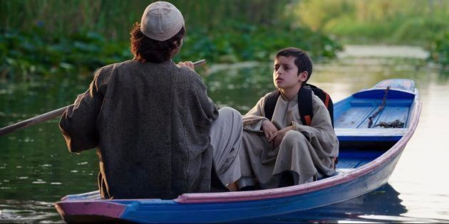 A still from Aijaz Khan's 'Hamid,' which recently screened at the Dharamsala International Film