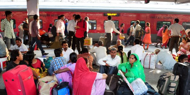 Rail Passengers Protest After 6 Fall Ill, Thanks To 'Stale Food' On
