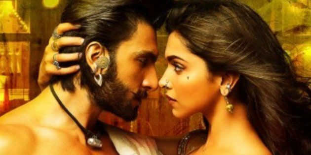 Ranveer Singh and Deepika Padukone in