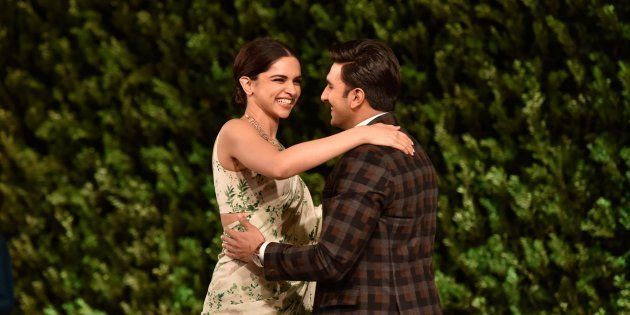 Deepika Padukone and Ranveer Singh in a file