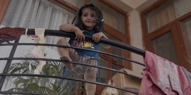 Myra Vishwakarma in 'Pihu'.
