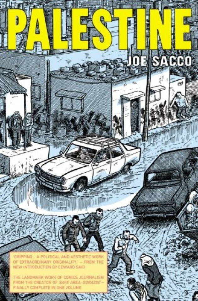Sacco's work is powerful because it takes us away from op-eds into the heart of the West Bank and Gaza Strip.