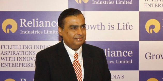 India's Reliance Industries Chairman Mukesh