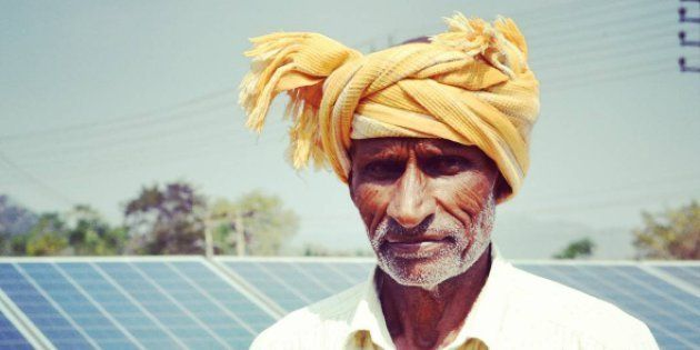 Microgrid in Karnataka. Photo Credit: Vivek
