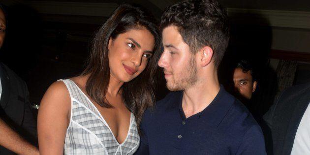 A file photo of Priyanka Chopra and Nick