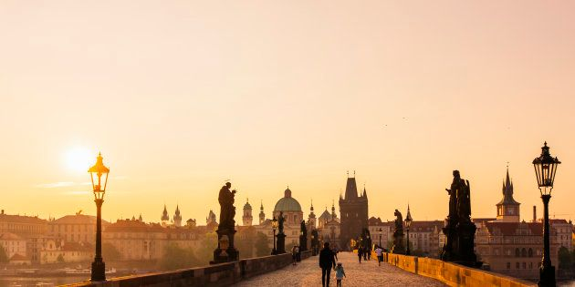 Sarah Perry's foreboding novel begins in present-day Prague, where Helen Franklin, an English woman in her early 40s, is living a life of self-imposed exile.