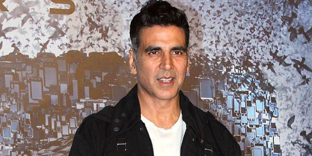 Akshay Kumar at the promotion of '2.0'.