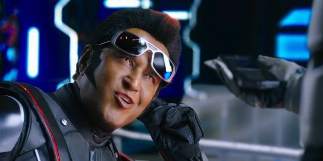 If you find the climactic stretch to be peppy, it's only because of the punch dialogues and body language of Chitti 2.0.
