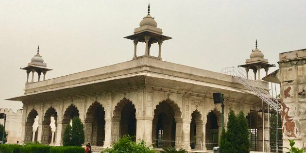 At its zenith, the Diwan-e-Khas was the most beautiful building in India.