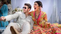 Priyanka Chopra And Nick Jonas' Pictures From Their Mehendi Ceremony Are Dreamy
